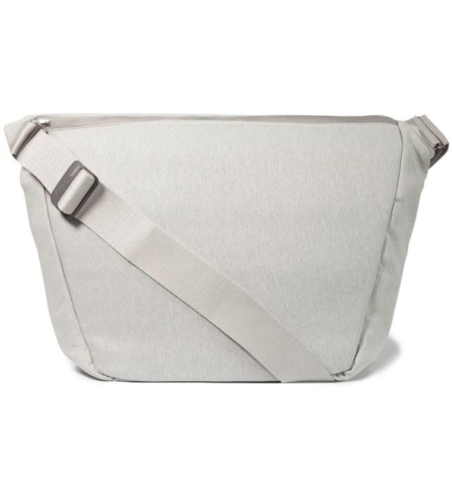 "Silver 15"" Laptop Messenger Bag"