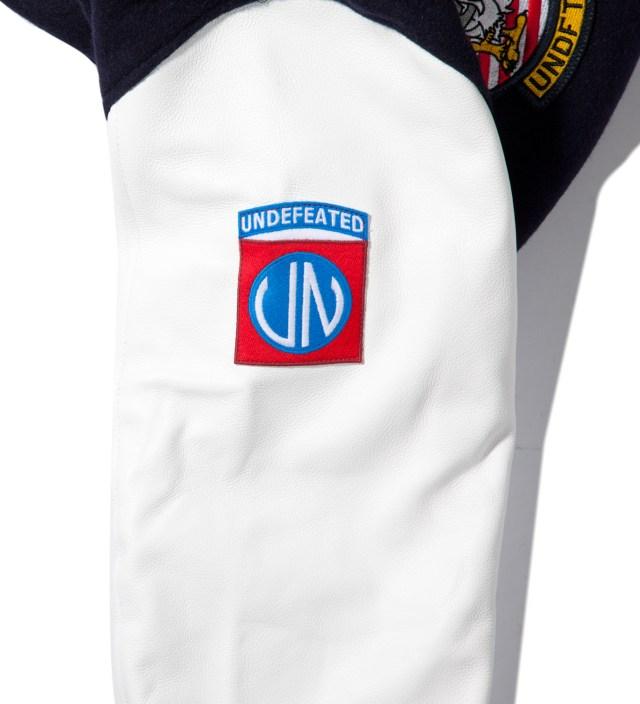 Navy UNDFTD Strike Team Varsity Jacket