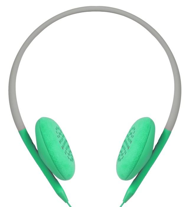 Primer/Apple Green Pivot Packable Folding Headphones