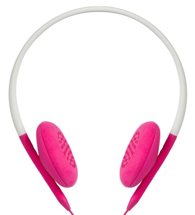 Flint Stone/Pop Pink Pivot Packable Folding Headphones