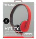 Hot Red/Primer Reflex Coated Canvas Headphones