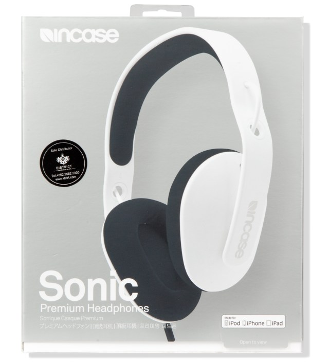 White/Iron Sonic Premium Headphones