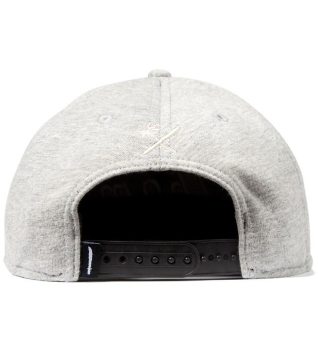 Heather Grey Magnum Fleece Snapback Ballcap