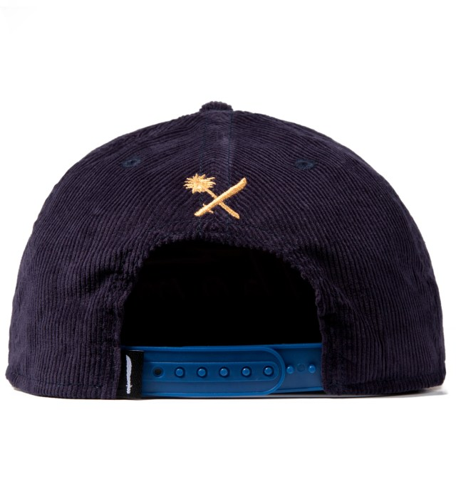 Navy Magnum Cord Snapback Ballcap