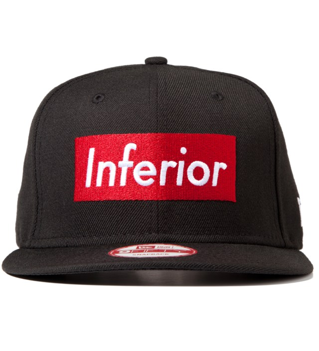 Mark McNairy for Heather Grey Wall Black New Era Inferior Snapback Cap