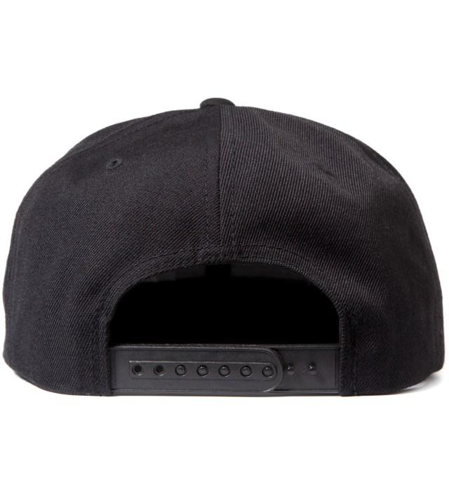 Black New York King Snapback Cap