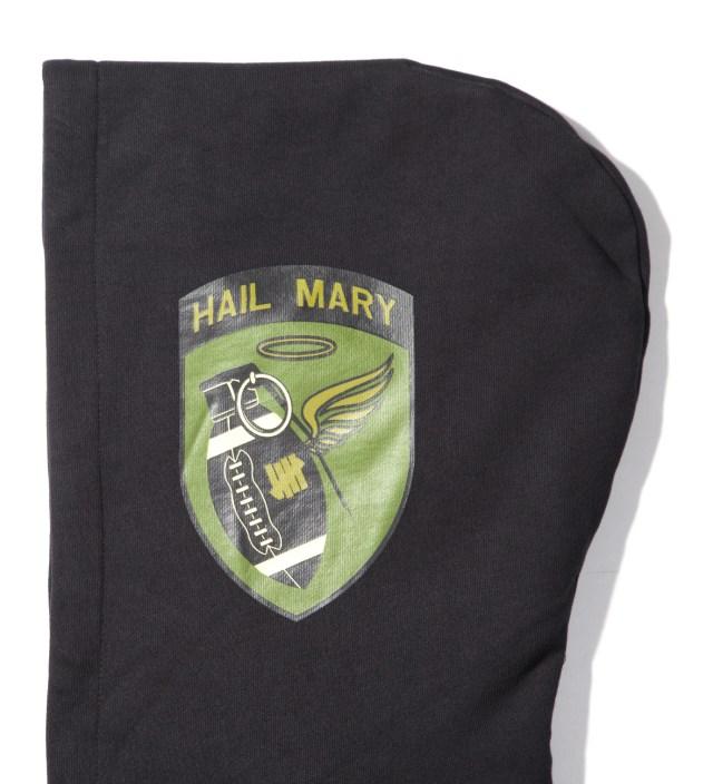 Black Hail Mary Zip Hoodie
