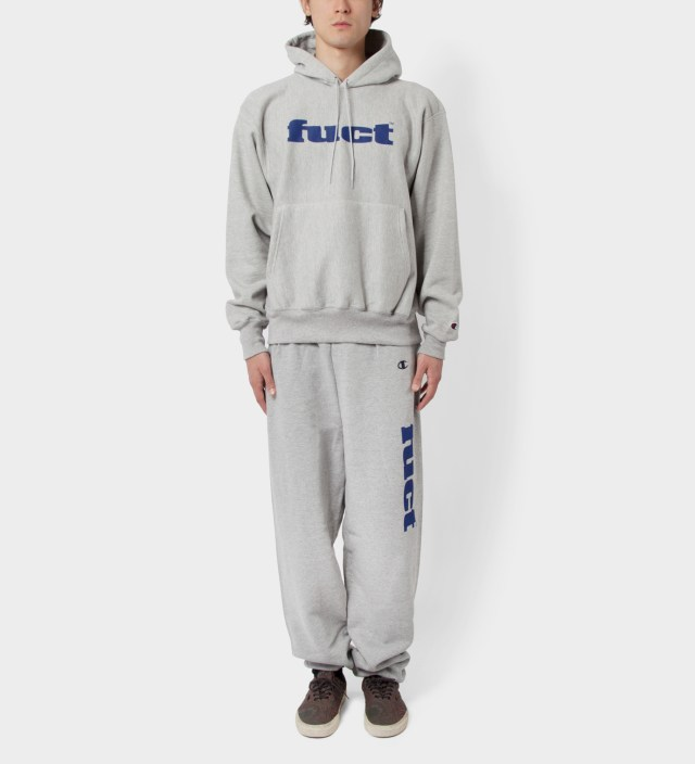 Grey OG Logo Sweat Suit