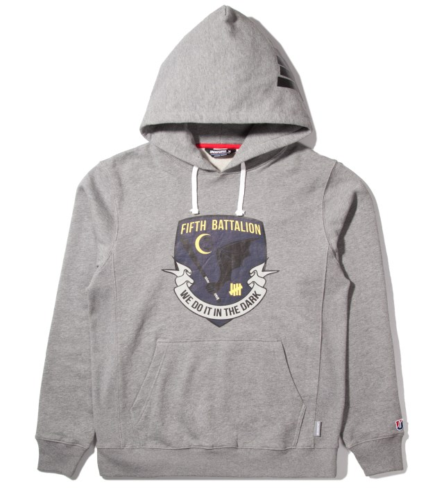 Heather Grey Battalion Pullover