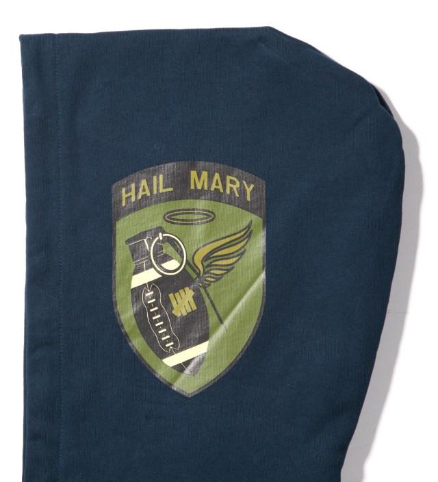 Navy Hail Mary Zip Hoodie
