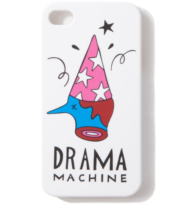 White The Drama Machine iPhone 4/4S Cases