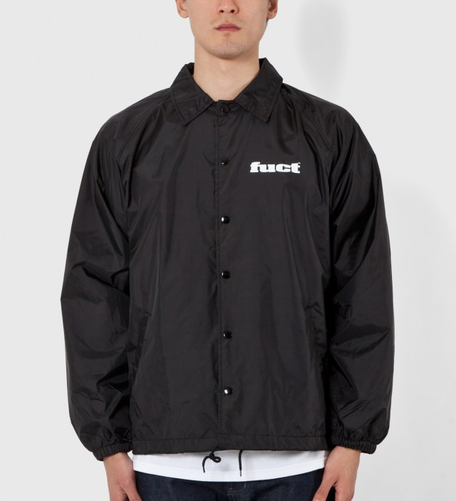 Black OG Coaches Jacket