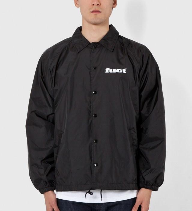 Black OG Coaches Jacket