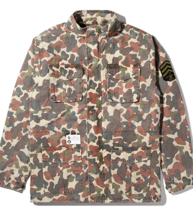 Camo Soldier M65 Jacket