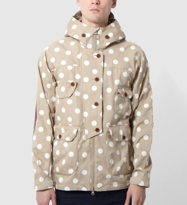 Beige Dot Tech Jacket