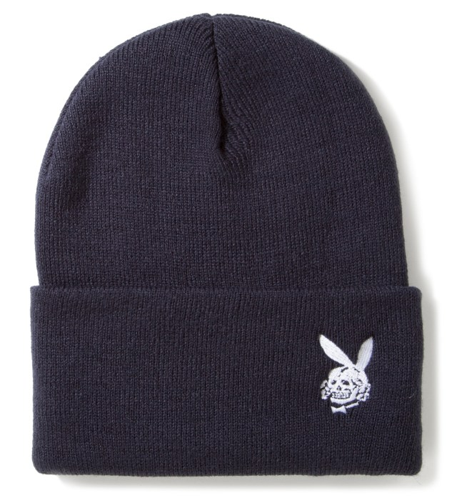 Blue Death Bunny Watch Cap