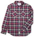Navy Groundwork Flannel Shirt