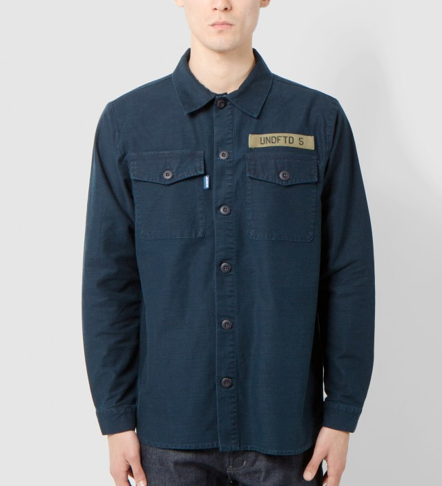 Navy Fortune BDU Shirt