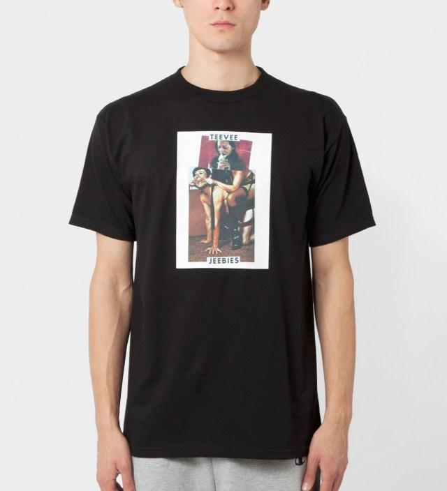 Black Teevee Jeebies T-Shirt