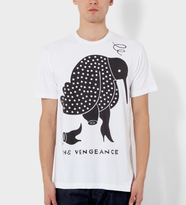 White The Vengeance T-Shirt