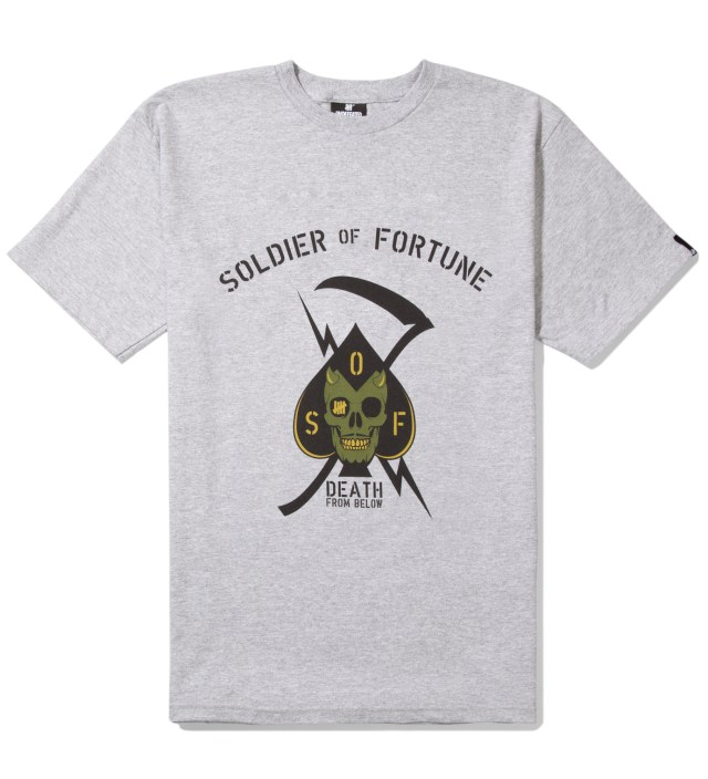 Heather Grey Death From Below T-Shirt