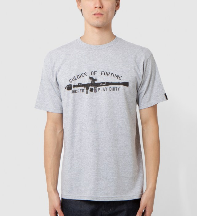 Heather Grey SOF Gun T-Shirt