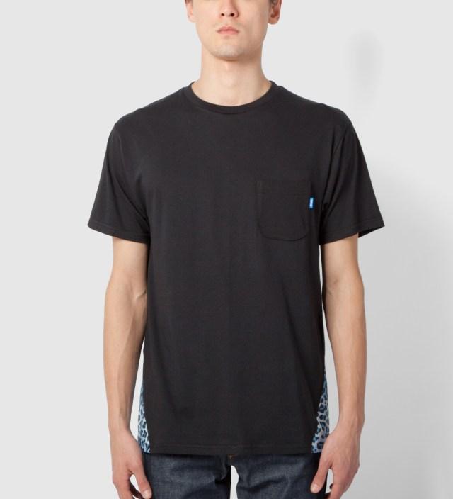 Black Pyramid Leopard Print T-Shirt