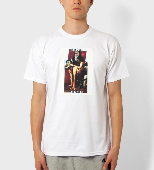 White Teevee Jeebies T-Shirt