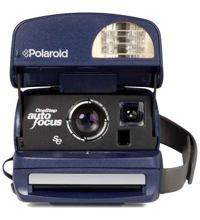Navy Refurbished Vintage Polaroid 600 Box Type Camera