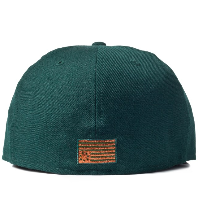 Green Vndercvmo B Logo New Era Cap