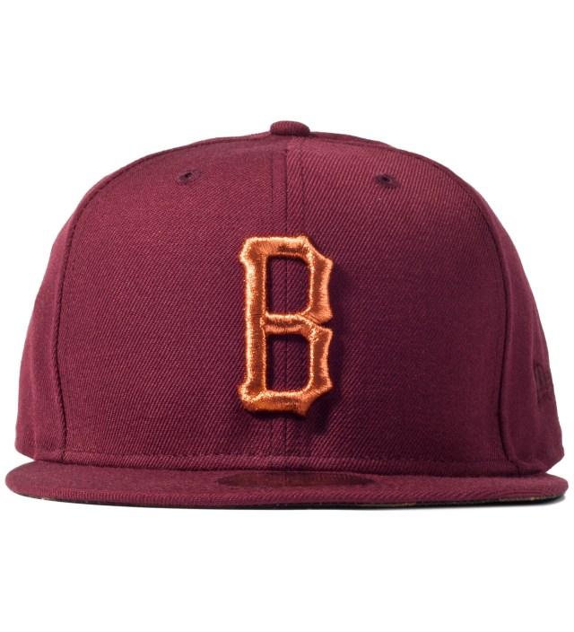 Maroon Vndercvmo B Logo New Era Cap