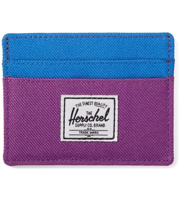 Purple/Cobalt Charlie Card Case