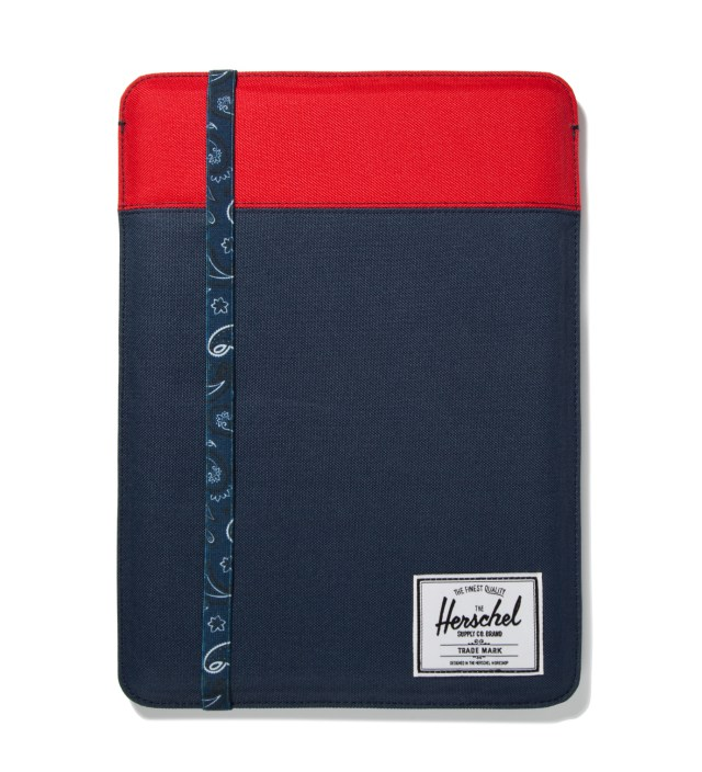 "Red/Navy Cypress Sleeve for 13"" Macbook Air"