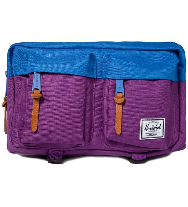 Purple/Cobalt Eighteen Hipsack
