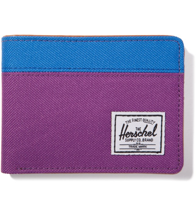 Purple/Cobalt Hank Wallet