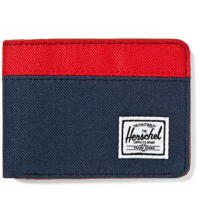 Red/Navy Hank Wallet