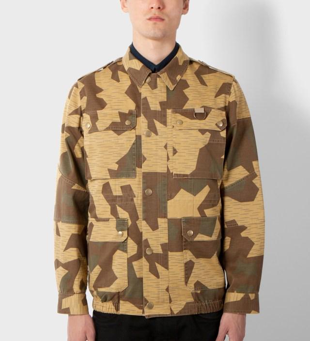 Camo Veste Soldier Jacket
