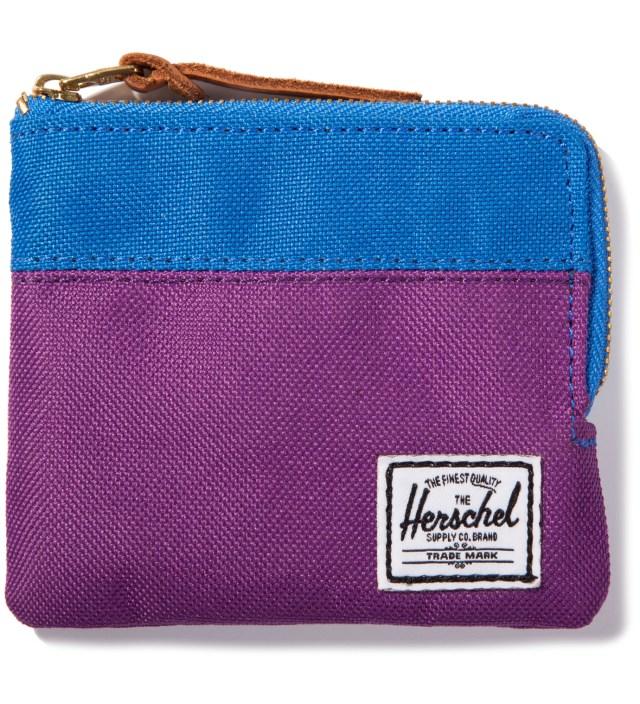 Purple/Cobalt Johnny Wallet