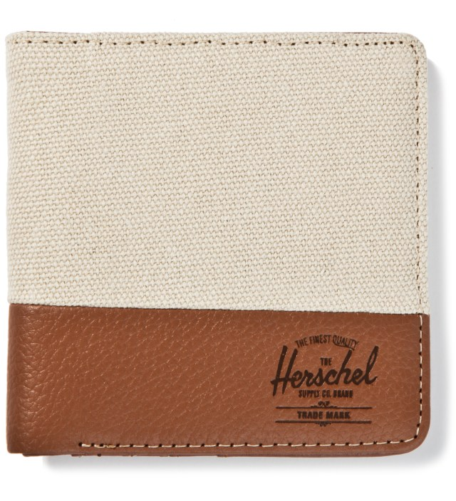 Natural/Tan Pebble Leather Kenny Wallet
