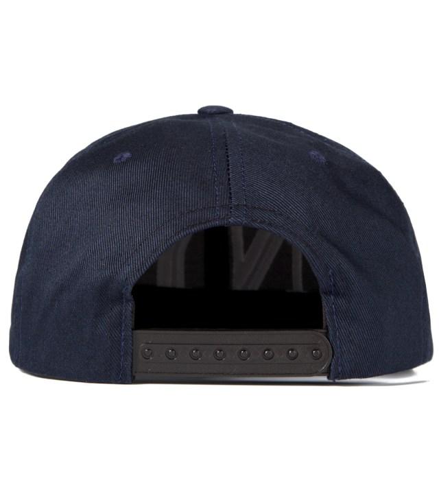 Black Balmain NY Snapback Cap
