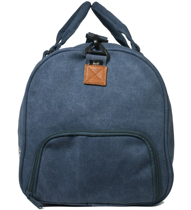 Washed Navy Novel Canvas Bag