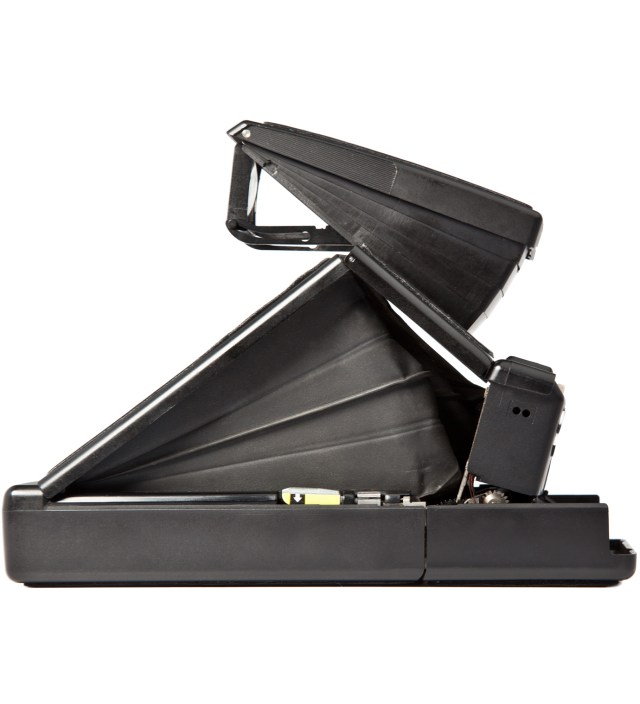 Black Body Refurbished Vintage Polaroid SX-70 Camera
