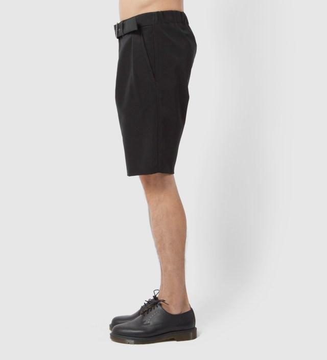 Black Karate Short with Adjustable Belt