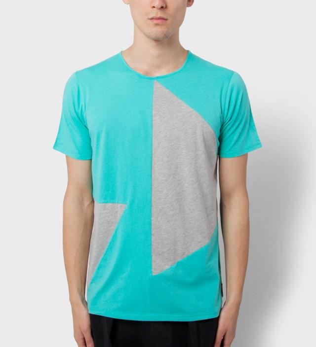 Turquoise Volker T-Shirt