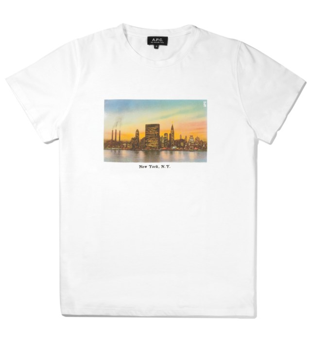 White NYC T-Shirt