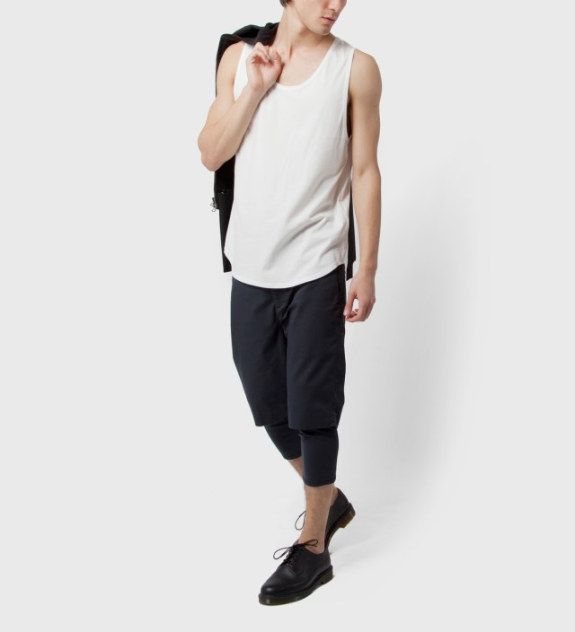 Antique White Loose Fit Tank