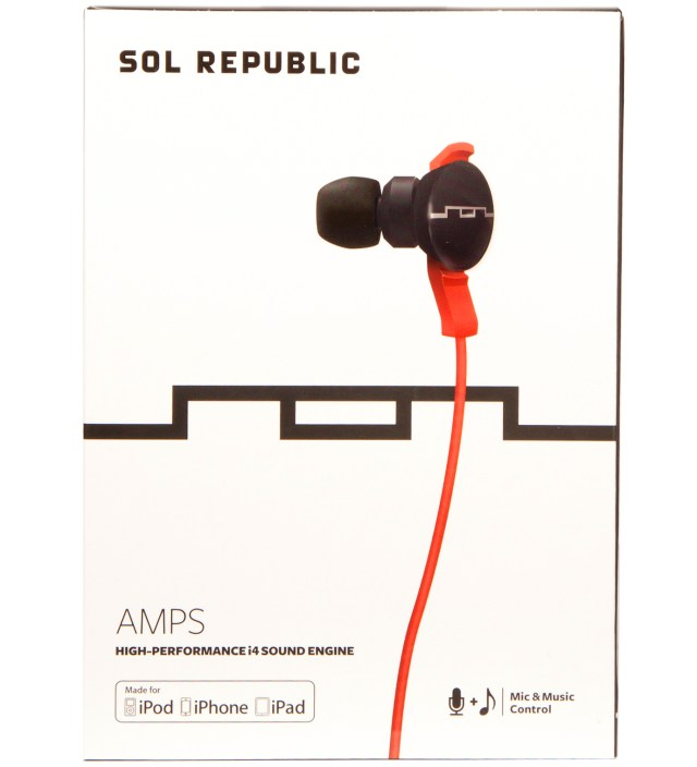 Red Amps Headphones