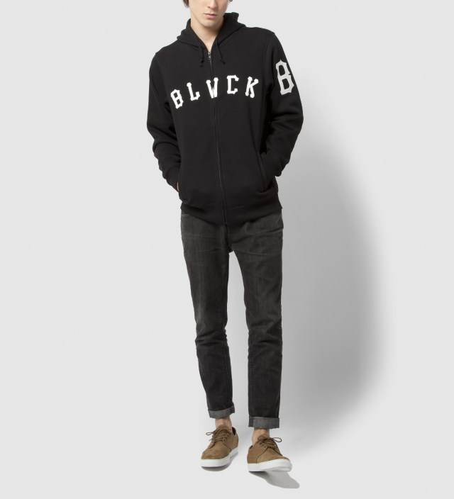 Black Grand Slam Rebel Zip Hoodie