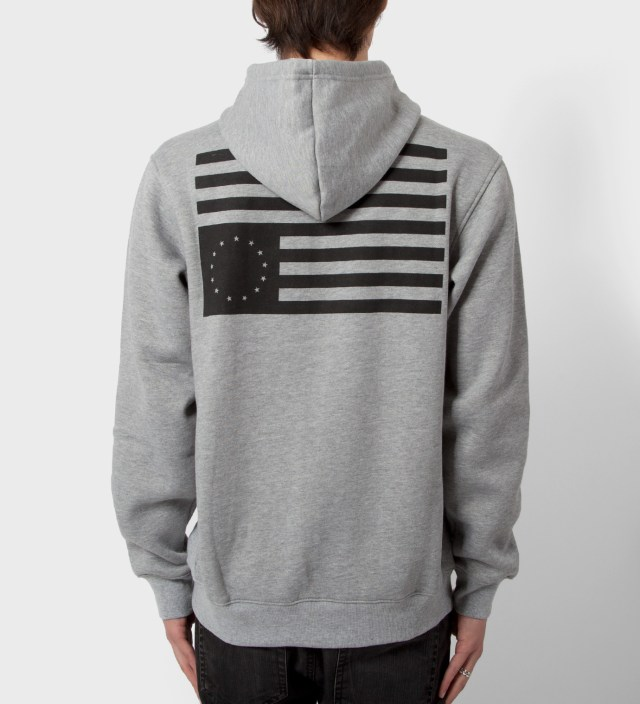 Heather Grey Grand Slam Rebel Zip Hoodie