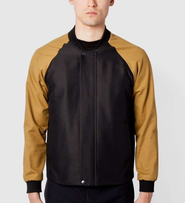 Black/Dark Stone Blouson Shirt